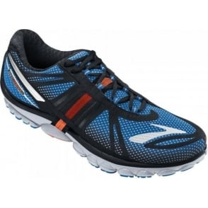 Brooks Pure Cadence 2 Minimalist Road Running Shoes ElectricBlue/Black/ShockingOrange/Silver Mens