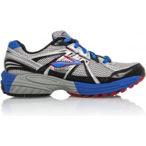 Brooks Adrenaline GTS Running Shoes BrilliantBlue/Cardinal/Silver Kids