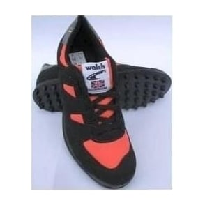 Walsh PB Elite Junior Kids Fell and Cross Country Running Shoes Black/Orange/Grey
