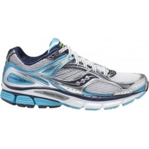 Saucony Stabil CS3 Running Shoes White/Blue/Navy Women's