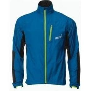 Inov8 Race Elite 105 Windshell Running Jacket Blue/Lime Mens