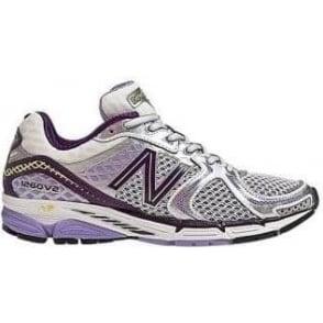 New Balance 1260 V2 Road Running Shoes Lavender/Silver (B WIDTH - STANDARD) Women's