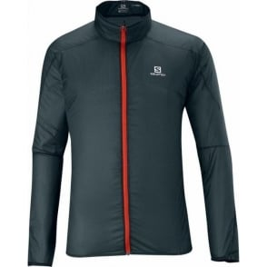 Salomon S-Lab Light Jacket Dark Cloud Mens