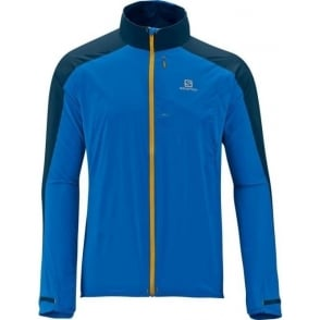 Salomon Fast Wing Jacket Union Blue Mens