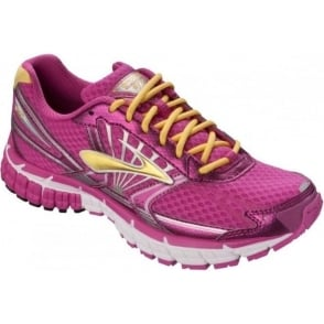 Brooks Kids Adrenaline GTS 14 Road Running Shoes Pink Girls