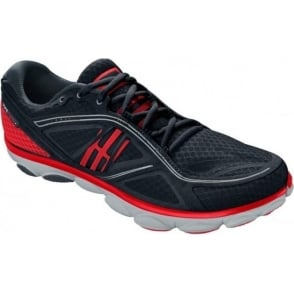 Brooks Pure Flow 3 Minimalist Road Running Shoes Black/Red/Anthracite Mens