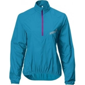 Inov8 Race Elite 60 Windshell Running Smock Turquoise/Purple Womens