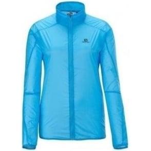 Salomon S-Lab Light Jacket Score Blue Womens