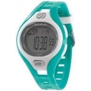 Soleus Dash Small Running Watch Turquoise/White/Grey