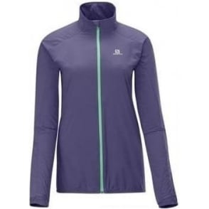 Salomon Fast Wing Jacket Artist Grey Womens