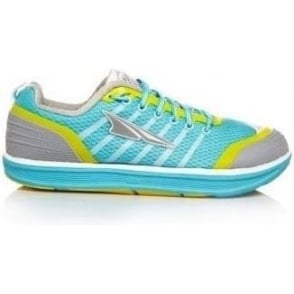 Altra Intuition 2.0 Womens Zero Drop Road Running Shoes Blue/Aurora