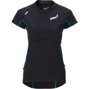 Inov8 Base Elite 100 Short Sleeve Running T-Shirt Black Womens