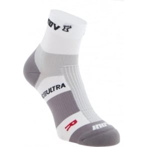 Inov8 Race Ultra Sock Mid Twin Pack White/Grey