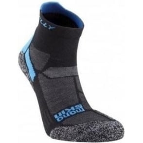 Hilly Energize Anklet Black/Electric Blue
