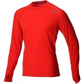 Inov8 Base Elite 150 Merino Base Layer Red/Blue Mens