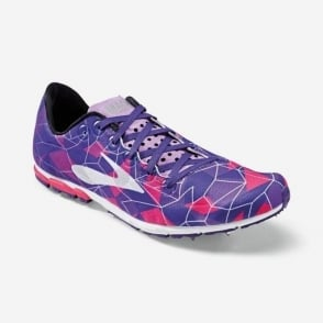 Brooks Mach 16 Running Spike Azaia/DeepLavender/DeepBlue Womens