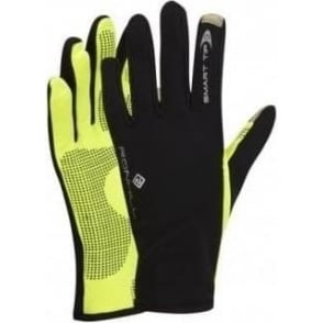 Ronhill Sirocco Running Glove Black/Fluo Yellow