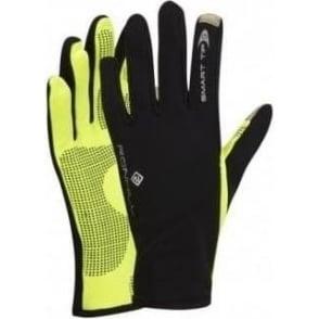 Ronhill Sirocco Running Glove Black/Fluo Yellow