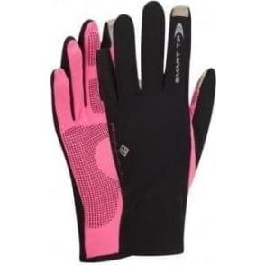 Ronhill Sirocco Running Glove Black/Fluo Pink