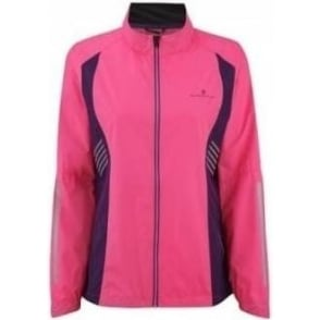 Ronhill Vizion Windlite Jacket Fluo Pink/Wildberry Womens