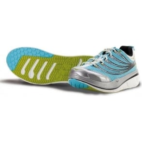 Hoka Kailua Tarmac Road Running Shoes LightBlue/Silver/White Womens