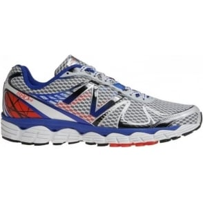 New Balance 880 V4 Road Running Shoes White/Blue (D WIDTH - STANDARD) Mens
