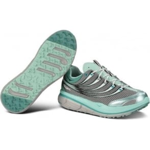 Hoka Kailua Trail Running Shoes Grey/Light Blue/White Womens