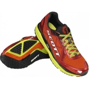 Scott AF+ Trainer Road Running Shoes Red/Green Mens