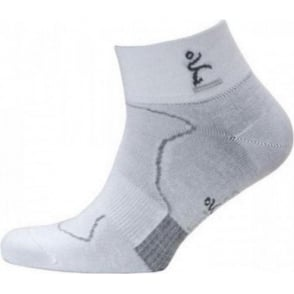 Balega Minimal Runner Pro Pacer 2 Running Socks White/Grey