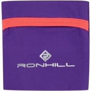 Ronhill Stretch Wrist Pocket Royal/Purple/HotCoral