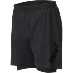 Inov8 Race Ultra Twin Short Black Mens