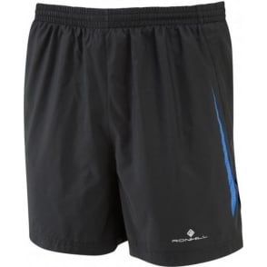 "Ronhill Advance 5"" Short Black/Electric Blue Mens"