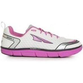 Altra Intuition 3 Zero Drop Road Running Shoes Silver/Pink Womens