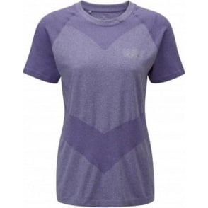 Ronhill Aspiration Cool-Knit Short Sleeve Tee Royal Purple Womens