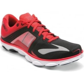Brooks Pure Flow 4 Road Running Shoes Red/Black/White Mens