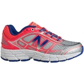 New Balance 860 V4 Kids Running Shoes Pink/Silver