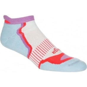 Balega Enduro No Show Womens Cool Blue/Lilac