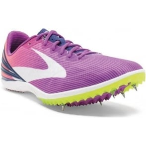 Brooks Mach 17 Spikes Purple Womens