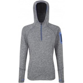 Ronhill Aspiration Victory Hoodie Grey Womens