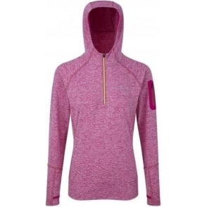 Ronhill Aspiration Victory Hoodie Magenta Womens