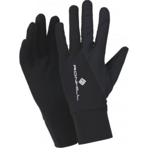 Ronhill Vizion Beanie and Glove Set AW15 All Black