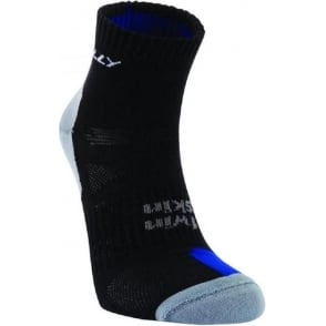Hilly Twin Skin Anklet Black/Grey/Royal Blue