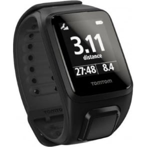TomTom Runner 2 GPS Watch Black/Anthracite Small