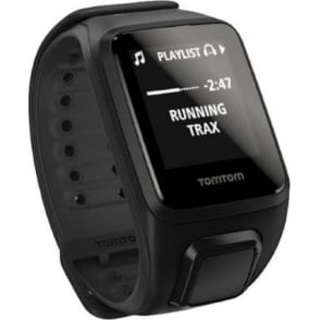 TomTom Runner 2 GPS Watch with Music Black Large