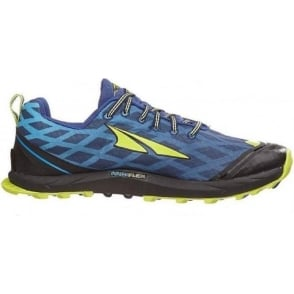 Altra Superior 2.0 Mens Zero Drop Trail Running Shoes Navy/Lime