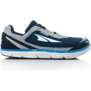 Altra Instinct 3.5 Blue/Silver Mens Zero Drop Road Running Shoe