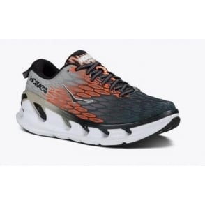 Hoka Vanquish 2 Grey/Orange Flash Mens