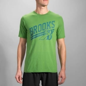 Brooks Heritage T-Shirt Forest Mens