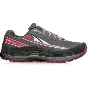 Altra Olympus 2.0 Mens Trail Running Shoes Silver/Red