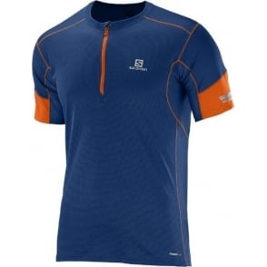 Salomon Agile HS Zip Tee